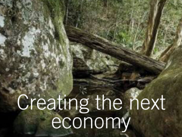 Next economy narratives Website image